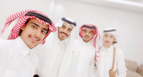 سعد يحتفل بعقد قرانه في جدة