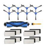 IUCVOXCVB Accessoires pour aspirateur Bagotte BG600 BG700 BG800 Kit de rechange pour robot aspirateur Bagotte BG600 BG700 BG800 (couleur : A)