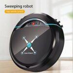 Dulov Aspirateur robot intelligent et balai automatique pour poils d'animaux, tapis, sols durs, carrelage