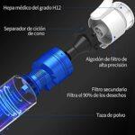 Vistefly V10 Pro Aspirateur Balai sans Fil sans Sac,2-1 Aspirateur Puissant 22000pa, 250W Rechargeable Batterie 40 mins, Ultra Léger