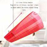 ZOUSHUAIDEDIAN Aspirateur sans Fil, Aspiration puissante 2 en 1 bâton Aspirateur, 1.2L Grande capacité poussière Coupe du Vide Idéal for Plancher Dur Tapis Animaux Cheveux (Color : Red)
