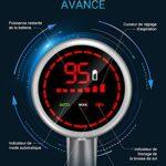 Laresar Elite Pro Aspirateur balais sans Fil, 400W, 30Kpa aspirateur Ecran LED Intelligent, Batterie Amovible, HEPA Filtre, Jusqu'à 55 Min d'autonomie, 2 Modes, Multi-Vitesse
