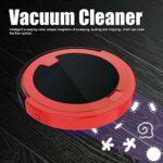 Okuyonic Aspirateur, Double Nettoyage Nettoyage Automatique aspirateur Balai USB aspirateur Rechargeable pour la Maison