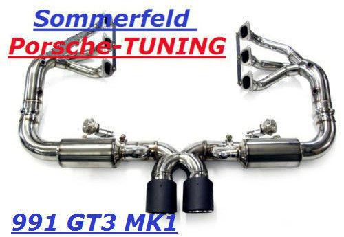 porsche 991 gt3 rs flap exhaust