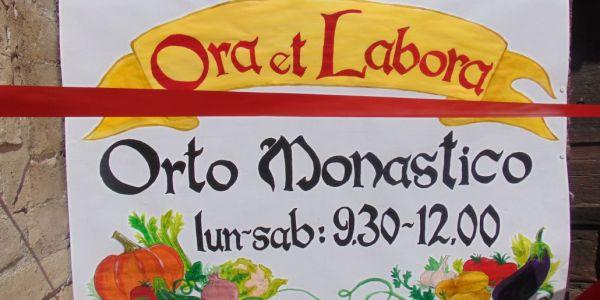 Apertura dell'orto delle monache in Via della Rocca