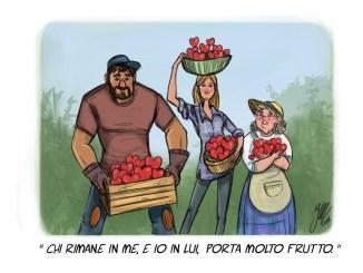 La profezia della potatura è realizzazione di una promessa, la Sua
