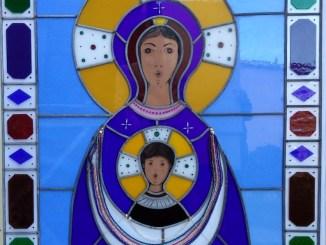 Inaugurazione Vetrata Madonna Nicopeia