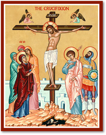 Great Feast Icons Crucifixion Icon Monastery Icons