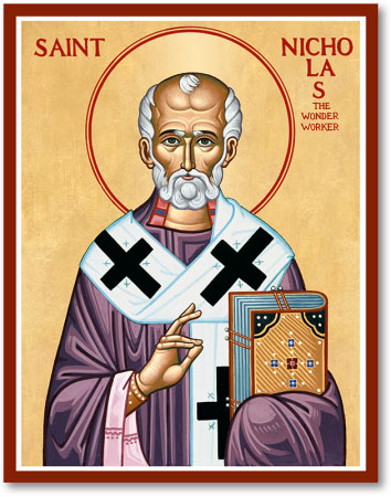 Men Saint Icons St Nicholas Icon Monastery Icons