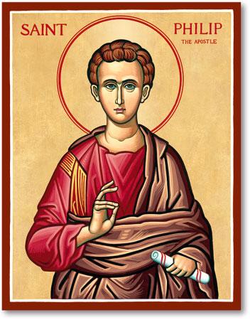 Men Saint Icons St Philip Icon Monastery Icons