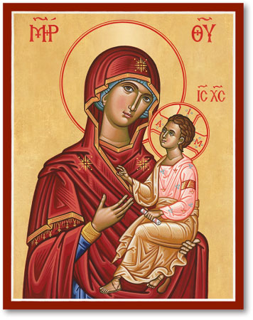 Blessed Virgin Mary Icons Virgin And Child Icon