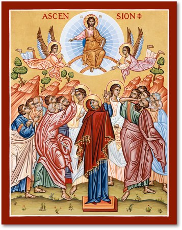 Great Feast Icons: Ascension Icon | Monastery Icons