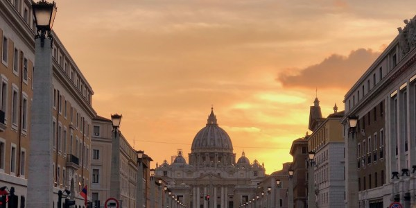 Vatican City, with Monastery Stays