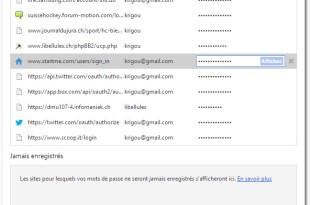 Comment récupérer les mots de passe stockés par Google Chrome