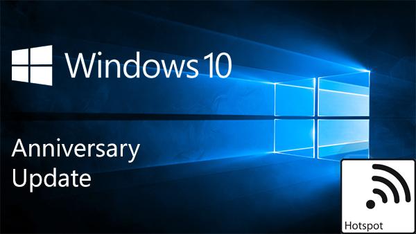 Partager la connexion Wifi (Mobile Hotspot) depuis son PC avec Windows 10 (4)