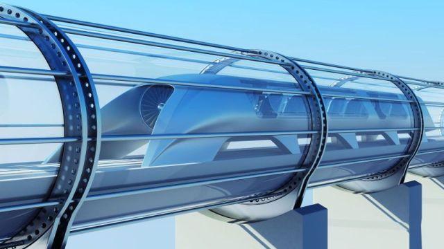 L'Inde souhaite acquérir le train subsonique Hyperloop monastuce