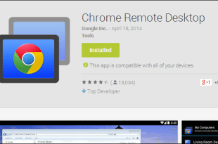 Google Remote Desktop ou Bureau à distance Google Chrome