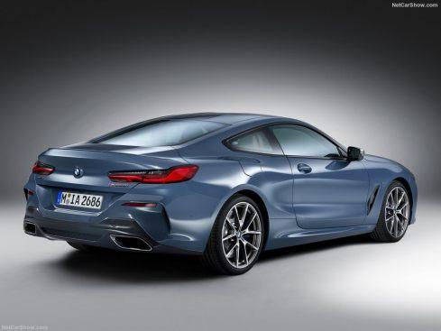 BMW Série 8 2019 vue arrière