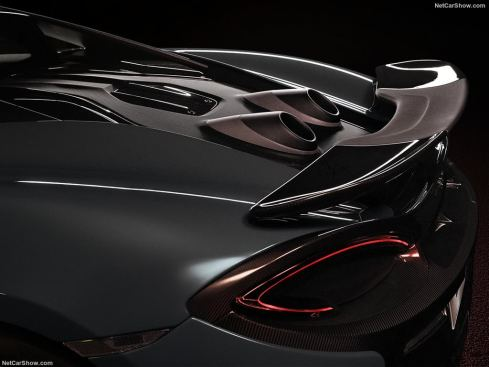 McLaren 600 LT aileron
