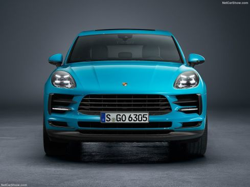 Porsche Macan 2019 face avant