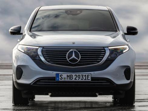Mercedes EQC 2019 face avant