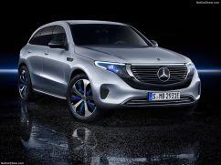Mercedes EQC 2019 3/4 avant
