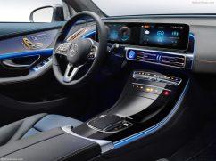 Mercedes EQC 2019 avant intèrieur