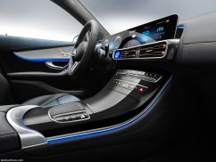 Mercedes EQC 2019 console centrale
