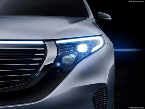 Mercedes EQC 2019 phare led