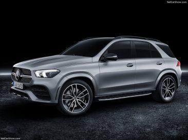 Mercedes GLE 2019 studio 3/4 droit