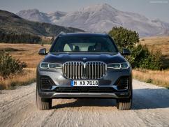 BMW X7 2019 vue calandre avant