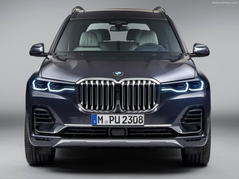 BMW X7 2019 feux avant