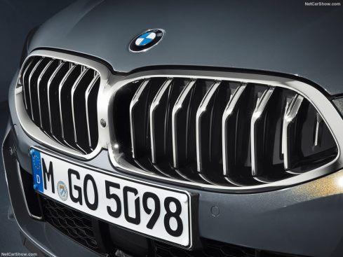 BMW Série 8 Cabriolet 2019 grille calandre avant