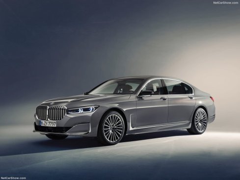 BMW Série 7 2020 3/4 avant