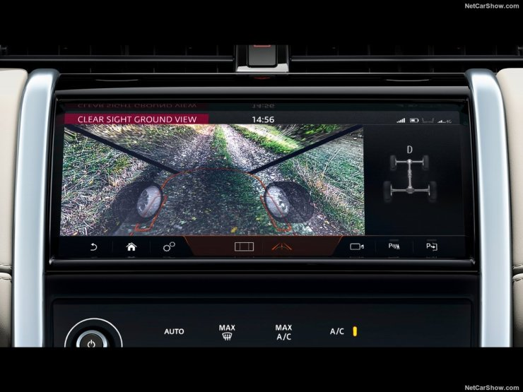 Land Rover Discovery Sport 2020 ClearSight Ground View