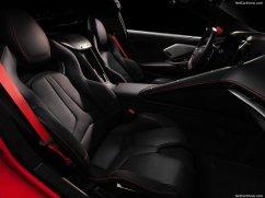 Chevrolet Corvette 2020 siéges avant