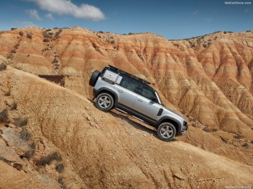 Galerie Land Rover Defender 2020 version 110 tout terrain