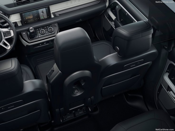 Galerie Land Rover Defender 2020 3 places avant