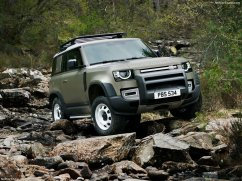 Galerie Land Rover Defender 2020 version 90 3/4 avant