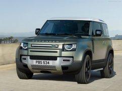 Galerie Land Rover Defender 2020 version 90 face avant