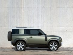 Galerie Land Rover Defender 2020 version 90 de côté