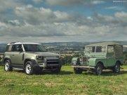 Galerie Land Rover Defender 2020 version 90 héritage