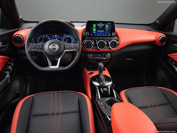 places avant Nissan Juke 2020