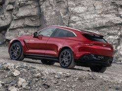 Aston Martin DBX 2021 becquet arrière