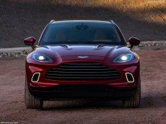 Aston Martin DBX 2021 face avant
