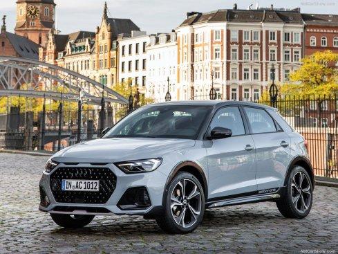 Audi A1 Citycarver 2020 face avant