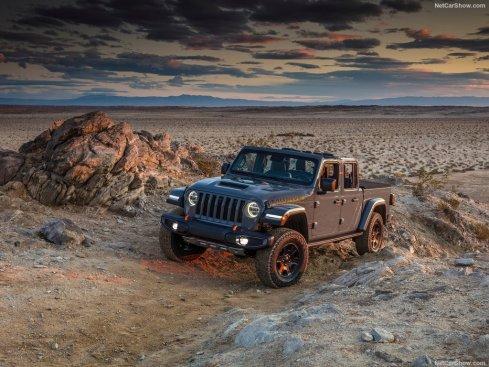 Jeep Gladiator Mojave avant