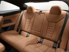 BMW Série 4 coupé 2021 place arrière