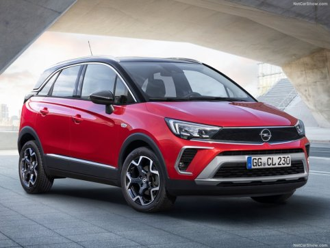 Opel Crossland 2021 face avant