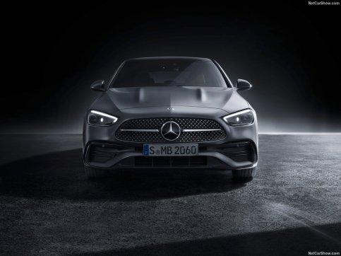 Mercedes Classe C 2022 face avant